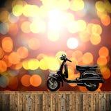 Curso com conceito das motocicletas Fotos de Stock