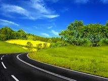 Curso da estrada imagens de stock royalty free