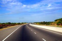 Curso da estrada Foto de Stock Royalty Free