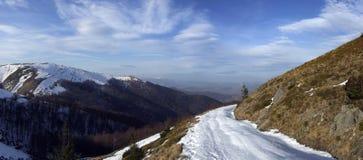 Curso da montanha Fotografia de Stock Royalty Free