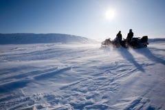 Curso da montanha do inverno imagens de stock royalty free