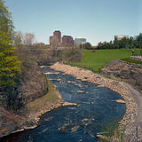 Curso de agua blanca, Ottawa Imágenes de archivo libres de regalías