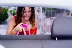 Curso de carro Fotos de Stock