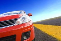 Curso de carro Imagem de Stock