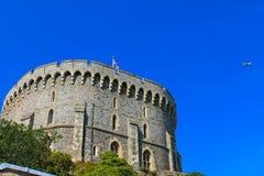 Curso de Inglaterra ao castelo Fotografia de Stock