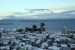 Curso de Islândia imagem de stock royalty free