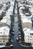 Curso de Islândia imagens de stock