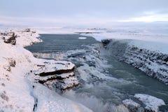 Curso de Islândia fotografia de stock