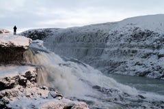 Curso de Islândia imagens de stock royalty free