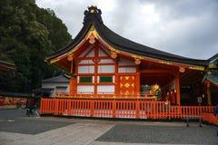 Curso de Japão, santuário de Fushimi Inari, em abril de 2018 foto de stock royalty free