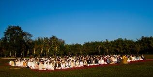 Curso de la meditación Fotos de archivo