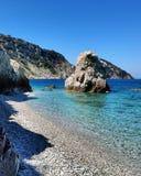Curso de mar de Isoladelba Toscânia Italia Fotografia de Stock Royalty Free