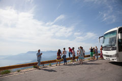 Curso de Montenegro Fotografia de Stock
