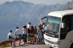 Curso de Montenegro Foto de Stock Royalty Free