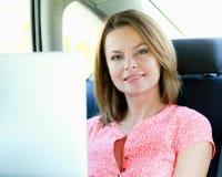 Curso de negócio Mulher de negócios ocupada Foto de Stock