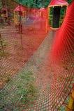 Curso de obstáculo de los niños del bosque de cuerdas Fotografía de archivo libre de regalías