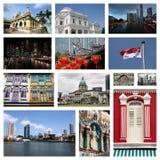 Curso de Singapura Foto de Stock