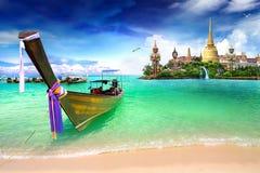 Curso de Tailândia Fotografia de Stock
