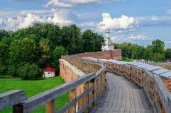 Curso del combate del Novgorod el Kremlin Fotos de archivo libres de regalías