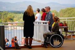 Curso do navio de cruzeiros, Langesund, Noruega Fotografia de Stock Royalty Free