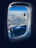 Curso do vôo imagem de stock