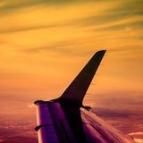Curso e aviação fotografia de stock