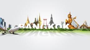 Curso em Banguecoque, conceito fotografia de stock royalty free