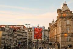 Curso a Europa Portugal para encontrar o cen?rio de encantamento imagem de stock