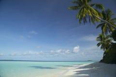 Curso exótico tropical da praia da ilha e da areia Imagem de Stock Royalty Free