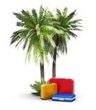 Curso, férias e conceito do turismo Foto de Stock