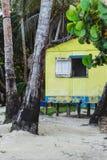 Curso geral da casa pobre nativa de Nicarágua da ilha de milho imagens de stock royalty free