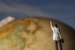 Curso global Imagens de Stock Royalty Free