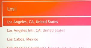 Curso a Los Angeles Califórnia EUA vídeos de arquivo