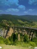 curso a Montenegro foto de stock