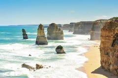 Curso na grande estrada do oceano, Austrália Fotografia de Stock Royalty Free