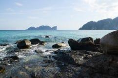 Curso na ilha dos PP imagem de stock royalty free