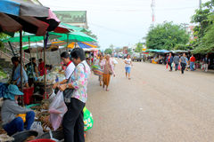 Curso no Lao Fotos de Stock Royalty Free