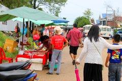 Curso no Lao Foto de Stock Royalty Free