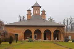 Curso a Romênia: Entrada do palácio de Mogosoaia foto de stock royalty free