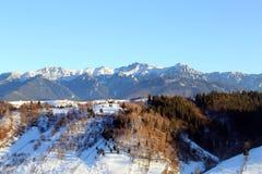 Curso a Romênia: Montanhas de Bucegi fotografia de stock royalty free