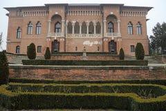 Curso a Romênia: Palácio de Mogosoaia fotos de stock