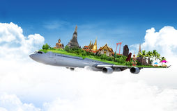 Curso Tailândia imagem de stock royalty free