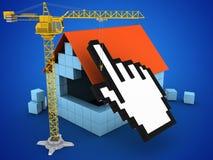 cursor 3d Ilustração Stock
