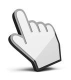 Cursor da mão Imagem de Stock Royalty Free