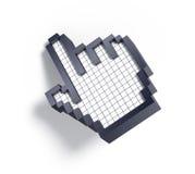 cursor da mão 3d Imagens de Stock Royalty Free