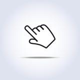 Cursor da mão Foto de Stock Royalty Free