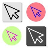 Cursor. flat vector icon royalty free illustration