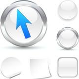 Cursor  icon. Stock Image