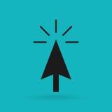 Cursor icon design Stock Photography
