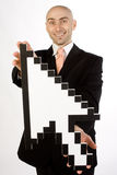 Cursor man Royalty Free Stock Photos